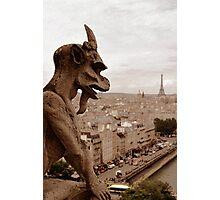 Notre Dame Gargoyle Photographic Print