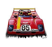 Ferrari 312PB Race Car Photographic Print