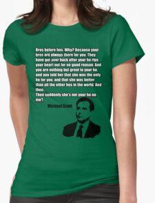 "Michael Scott ""Ho no mo"" Womens Fitted T-Shirt"
