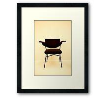 Modernist Chair Framed Print