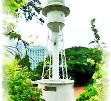 The Fort Canning Lighthouse by PictureNZ