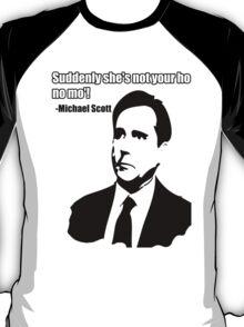 "Michael Scott ""Ho no mo"" T-Shirt"