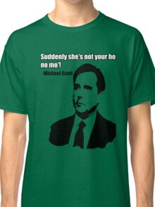 "Michael Scott ""Ho no mo"" Classic T-Shirt"