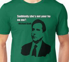 "Michael Scott ""Ho no mo"" Unisex T-Shirt"