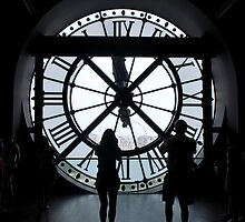 Musée d'Orsay Clock Tower by artyamie