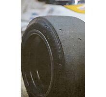 #4's tire Photographic Print