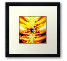 welcome to hell Framed Print
