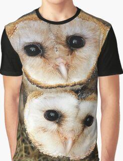Cute baby barn owls  Graphic T-Shirt