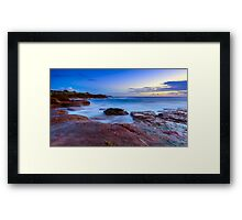 The Rocky Coast Framed Print