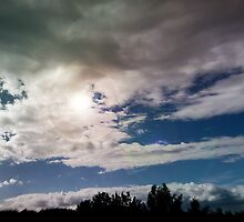 dramatic clouds V by NafetsNuarb