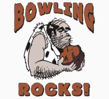Bowling Rocks Bowling T-Shirt Kids Clothes