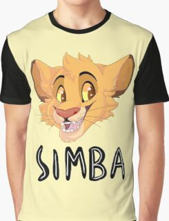 Simba- With Name Graphic T-Shirt