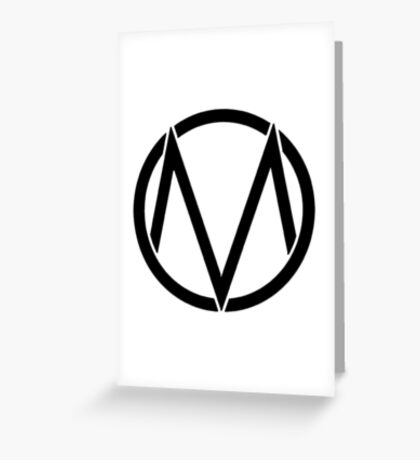 The maine - Band logo Greeting Card