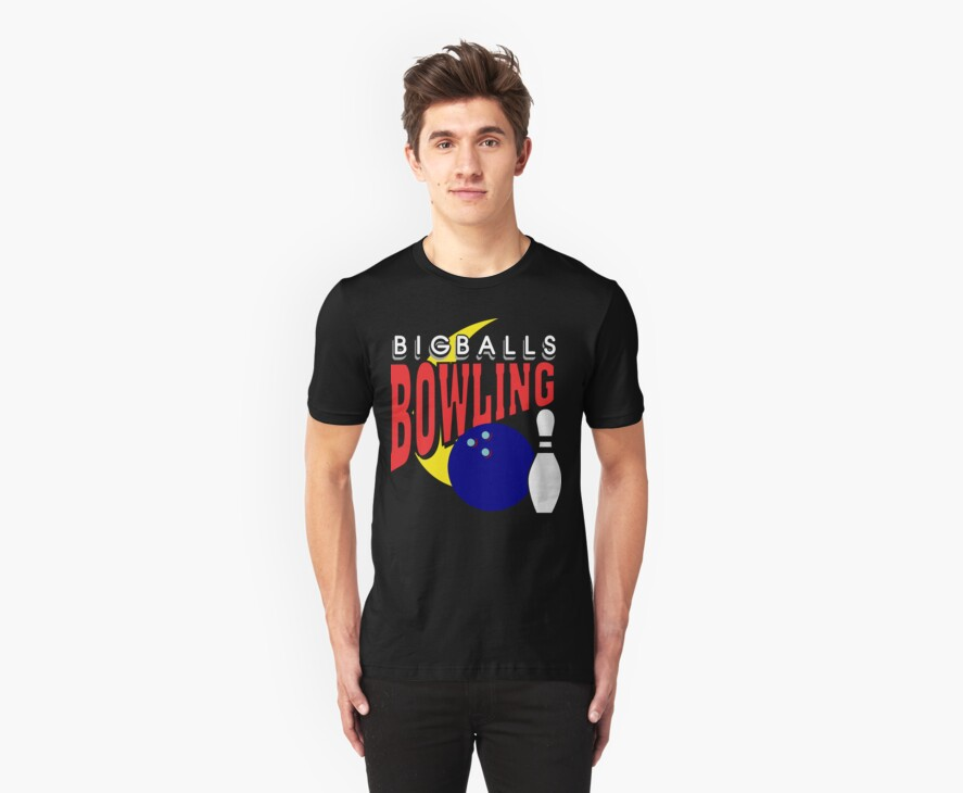 Big Balls Bowling T-Shirt - Dark by SportsT-Shirts