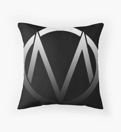 The Maine - Band  Logo Fade Throw Pillow
