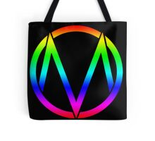 The Maine - Band  Logo Rainbow Tote Bag