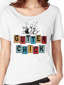 Gutter Chick Bowling T-Shirt Women's Relaxed Fit T-Shirt