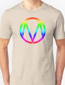The Maine - Band  Logo Rainbow T-Shirt