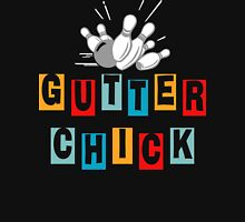Gutter Chick Bowling T-Shirt Womens Fitted T-Shirt