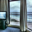 View from our room in Gold Coast, QLD by Vanessa Pike-Russell