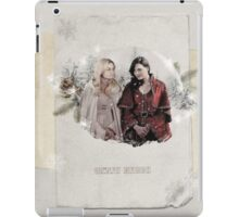 Christmas Special - Swan Queen iPad Case/Skin