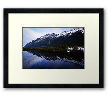 Mirror Lakes 1 Framed Print