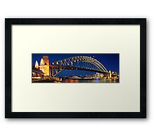 Sydney Harbour Bridge, New South Wales, Australia Framed Print
