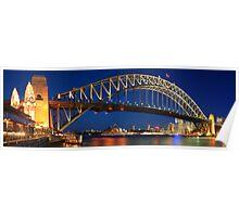 Sydney Harbour Bridge, New South Wales, Australia Poster