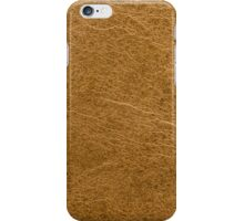 Yellow leather  iPhone Case/Skin