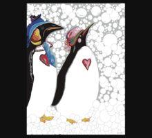 Cold Feet Warm Heart One Piece - Long Sleeve