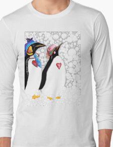 Cold Feet Warm Heart Long Sleeve T-Shirt