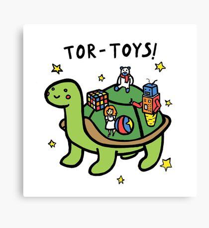 Tor-Toys Canvas Print