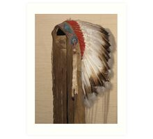 Indian Headdress Art Print