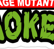 Teenage Mutant Dope Smokers Sticker