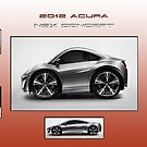 2012 Acura NSX Concept by Peter Kennelly