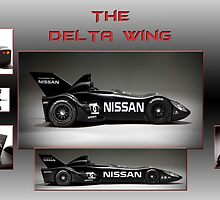 The Nissan Delta Wing by Peter Kennelly
