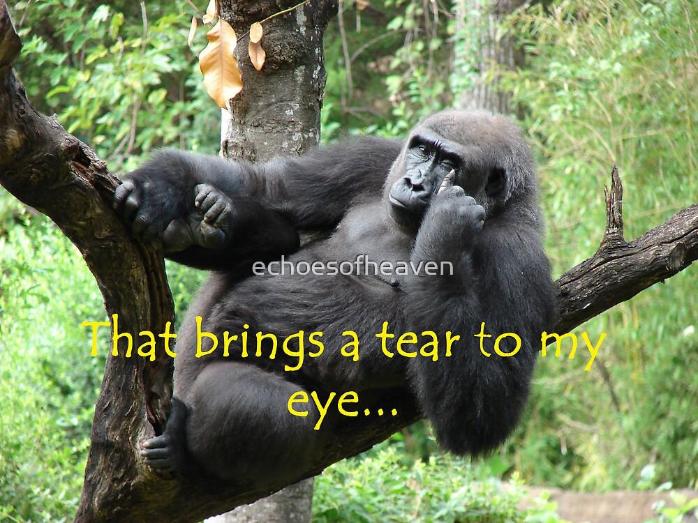 """That Brings A Tear To My Eye""  by Carter L. Shepard by echoesofheaven"