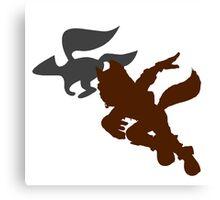 Smash Bros - Fox Canvas Print