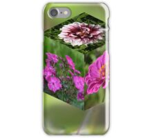 Flower Cube iPhone Case/Skin