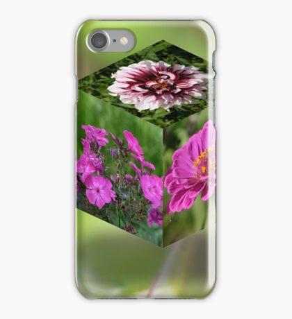 Flower Cube iPhone Case/Skin