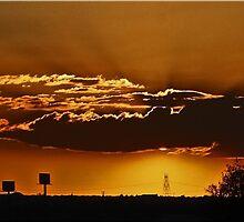 High Desert Sunset by Chet  King