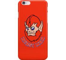 BEAST MAN!! iPhone Case/Skin