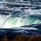 Rim of Niagara Falls by Eva Kato