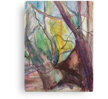 Heart Tree III Canvas Print