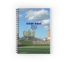 Cubs Baseball Spiral Notebook