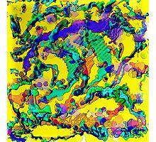 Alien DNA Photographic Print