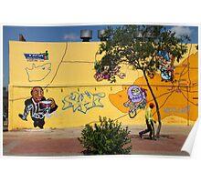 Public Wall Art & Graffiti Poster