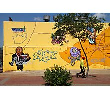 Public Wall Art & Graffiti Photographic Print