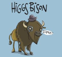 Higgs Bison : Orginal Size (bigger) by CS Jennings