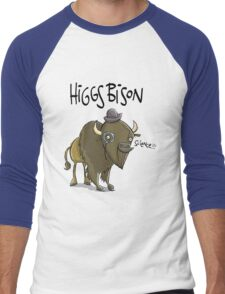 Higgs Bison : Orginal Size (bigger) Men's Baseball ¾ T-Shirt